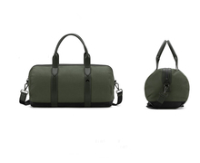 Men's travel bag handbag classic army green, fashion bag,Single shoulder