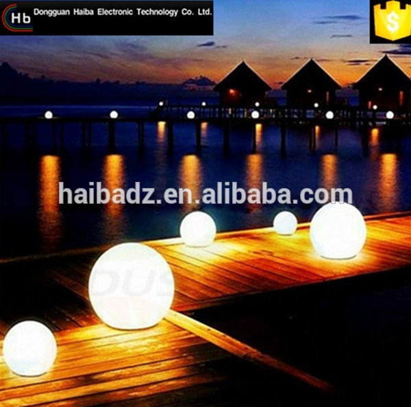 hot selling bright colored inflatable mirror ball Led Illuminated Swimming Pool Ball Light