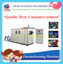 Factory price YC-660 Automatic hydraulic disposable plastic cup form machine
