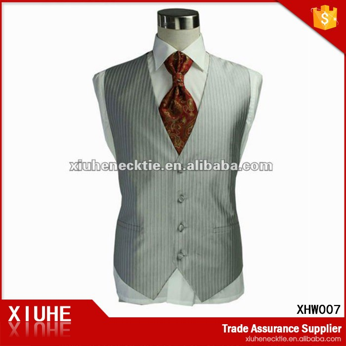 fashion men's wedding waistcoat.