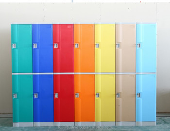 2015 new style high quality plastic locker