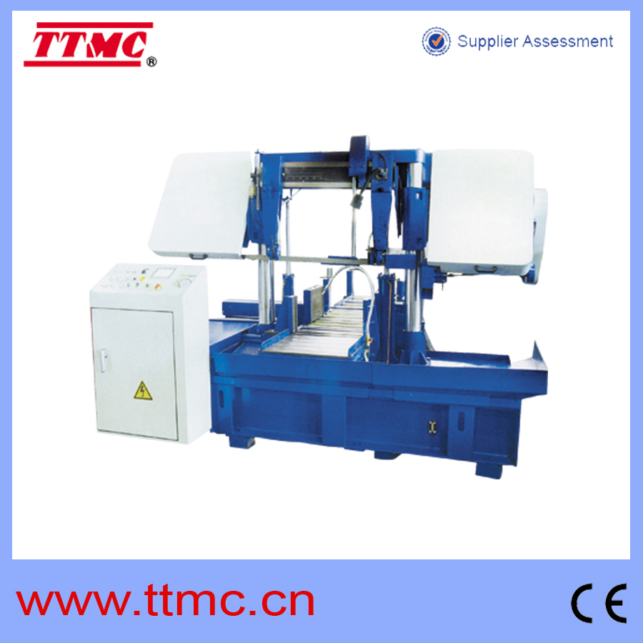 GZK-4265 Double Column Horizontal Band Saw TTMC manufacture and exporter