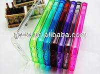 For iPhone 5 / 5S Transparent Crystal Clear Soft TPU Case Cover for iphone5 china manufacturer