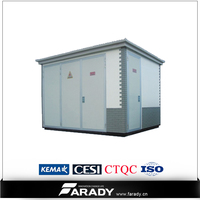 YBW 11KV electrical compact substation equipment