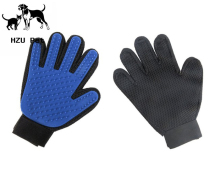 Pet grooming glove Cat Dog Massage Glove Grooming Products Tool Hand Brush