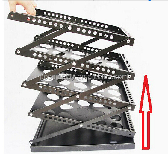 A4 Pop Up Brochure Holder Metal Foldaway Magazine Rack outdoor metal brochure display rack for countertop stand