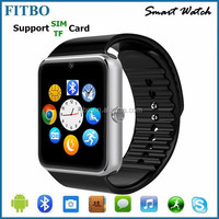 Camera/Facebook unlocked smart watch mobile phone for Apple 5/5s/5c