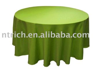 Charming Polyester Satin Table Cover