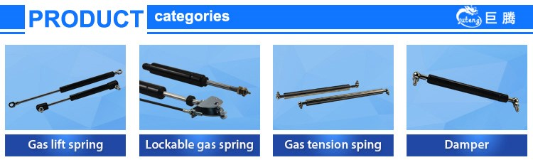 controllable nitrogen piston rod gas spring for treadmill