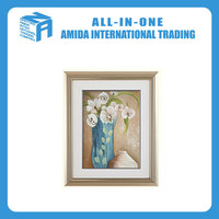 European contracted style blue still life bedroom wall painting