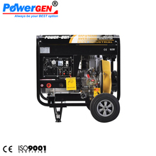 POWER-GEN Open Type 5KW Diesel Generator Welder