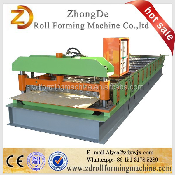 Hot Sale <strong>C10</strong> Russian Type Popular IBR Trapezoidal Sheet Roll Making Machinery