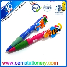 Newest cute erasable ball pen/advertising ball pen/rotomac ball pens