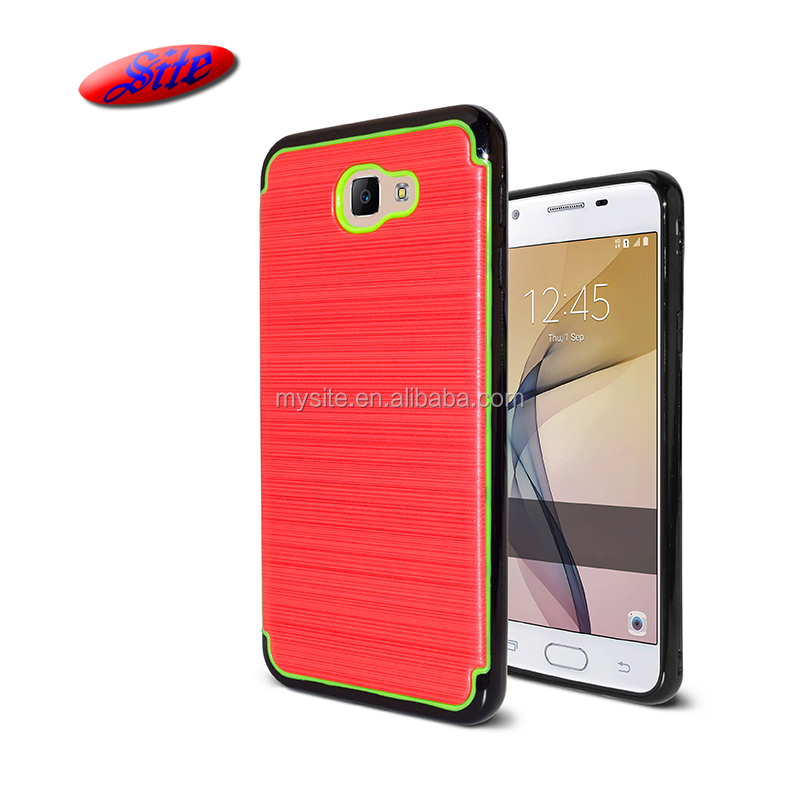 2017 best popular phone covers for samsung j5 prime tpu pc simple iron armor case