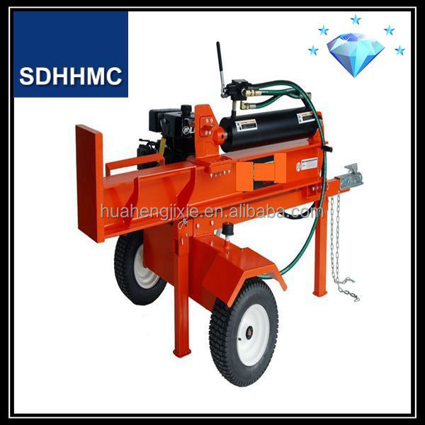 Hot Sales New Condition 50 Ton Gasoline Log Splitter With 15Hp Loncin&Lifan Engine