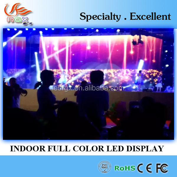 RGX big advertising billboard p2 indoor led video wall for shipping mall