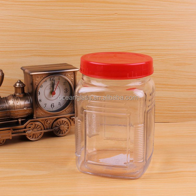 Food Grade Glass Storage Jar Crystal Clear Storage Container Storage jar