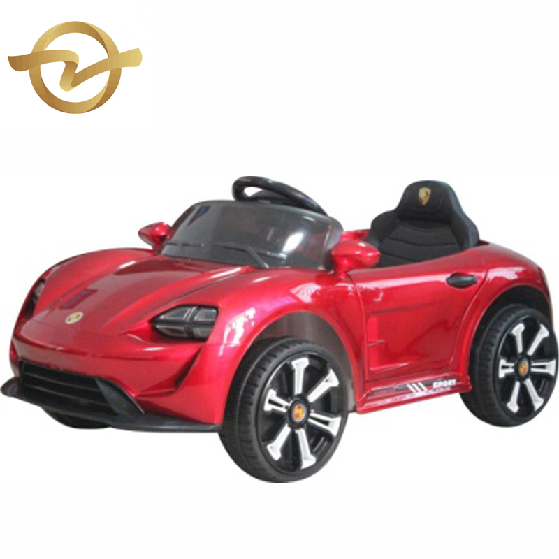 Lighting Music Early education Bluetooth Control Three speed 4 wheel electric children's toy car