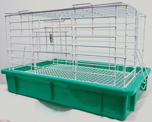 Hot Selling Cheap Commercial Easy Clean Luxury Unique Stackable Indoor Portable Used Rabbit Cages For Sale
