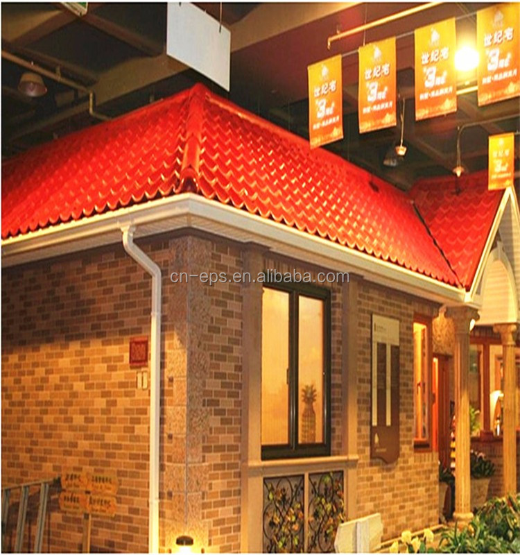 Versatile Building Materials Light weight Spanish synthetic resin tile roof/ roof tile