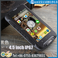 "F605 4.5""ip68 military smart phone WCDMA phone MTK6572 dual Core dual sim smartphone 12000mah Android 4.4 ip68 rugged smartphone"