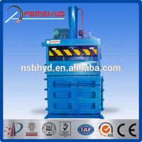 CE certificated manual feeding occ paper baler with high quality