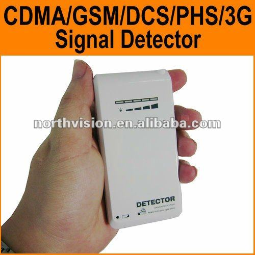 Newly Inner omni antenna portable mobile phone signal detector with earphone