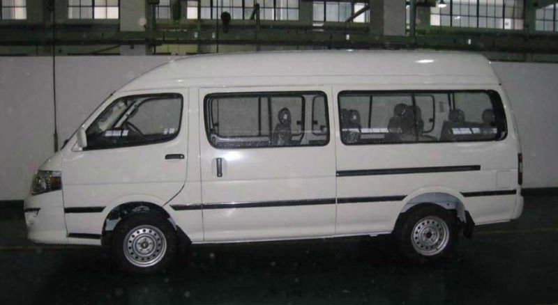 Van 5.28M with 14 seats Contact hansonshi@yeah.net