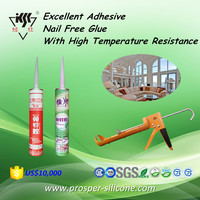Excellent Adhesive Nail Free Glue With High Temperature Resistance Silicone