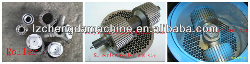 KL260 series pellet machine roller and die spare parts
