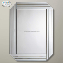 TOP MIRROR JSJ-M1559 modern design glass framed venetian mirror for home furnishing luxury living