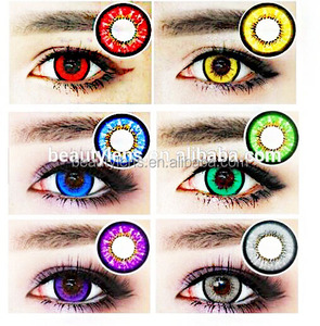 2018 Cosplay Crazy Colored Contact Lenses Cheap Cosmetic Contact Lens from China