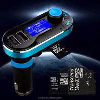 Rechargeable Car Steering Wheel Bluetooth Hands Free Speaker Kit