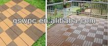 Eco friendly wpc DIYdecking/wpc flooring