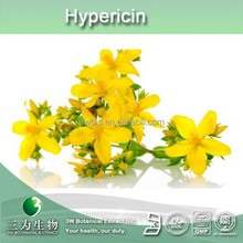 high quality st John's wort extract 0.3% hypericin powder UV