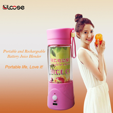 USB Rechargeable Electric blender Cup juice blender cup with powerbank