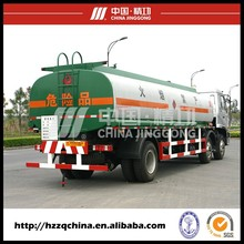 China Hot Sale Tri-axle light fuel oil tank truck for diesel delivery