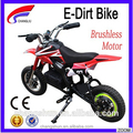 Powerful mini electric pocket / dirt bike with colored tires for kids