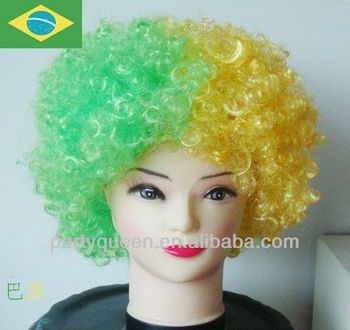 2014 world cup brazil wig,party wigs G-W02