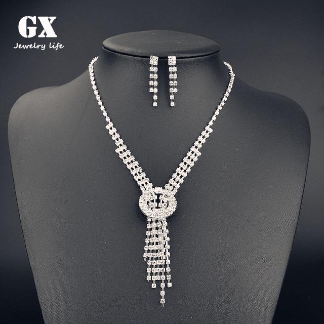 2018 Hot Sale Dubai Gold Jewelry Set / Wedding Jewellery Designs