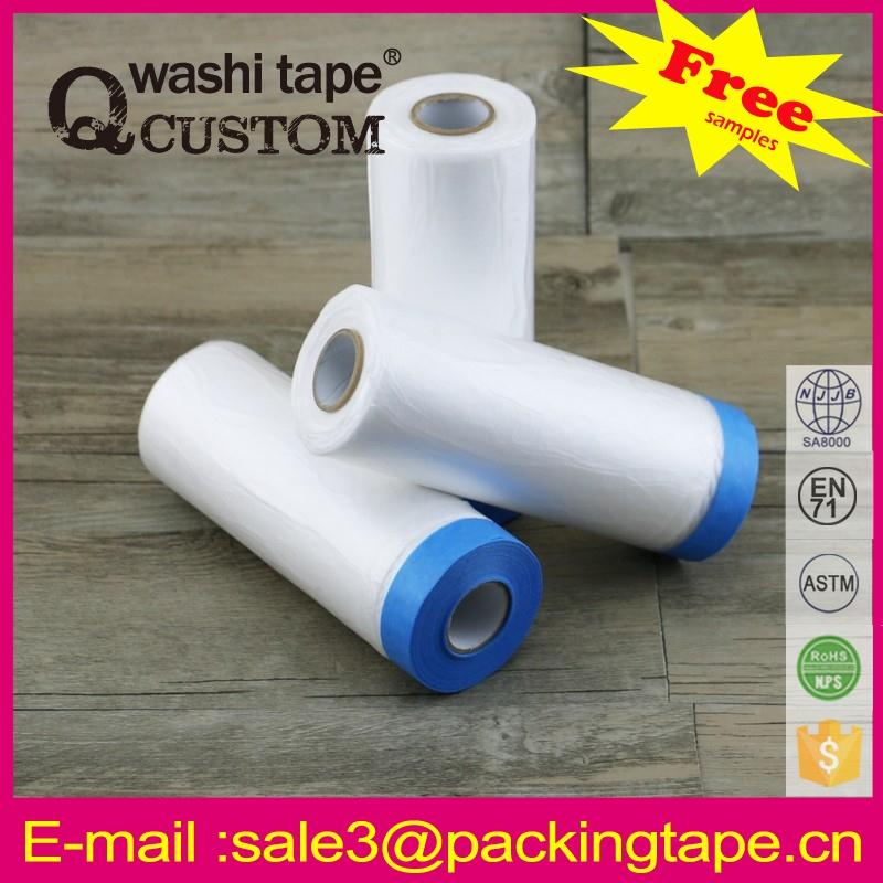 Wholesale writing pre-taped automotive paint plastic cover film