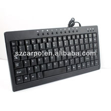 2013 new design wired desktop keyboard T120miniA