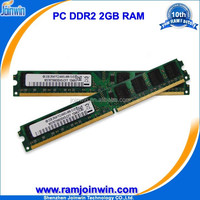 Best price full compatible pc800 ddr2 2gb ram life time warranty ett original