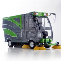 Rotary brush sweeper electric sweeper