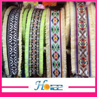 Promotional chic colorful textile jacquard ribbon braid trimming for decoration