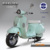 Retro 72V Lead-acid battery vespa electric scooter