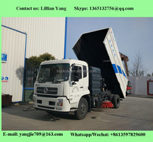 Best quality Donfeng Tianjin 4x2 Road Sweeper Sweeping Truck Vehicle