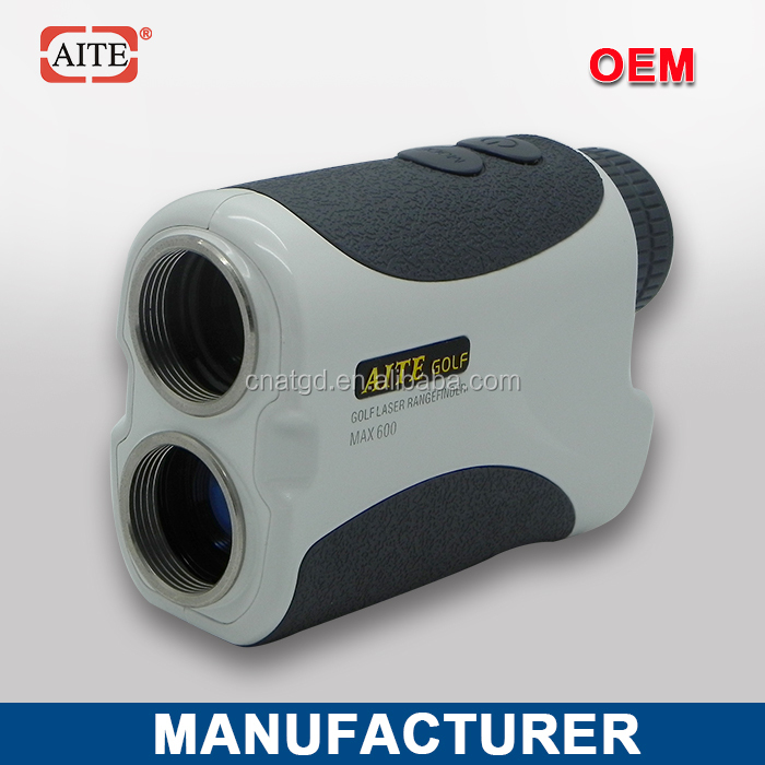 2014 New Style 6*24 600m Laser rangefinder with pinseeking and angle measure function golf cart rear differential