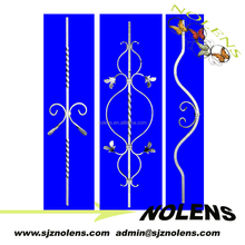 New Series Wrought Iron&Hot Forged Steel ComponentsFencing Balustrades Design For Cast Iron Gate /Fence/Handrails Elements