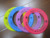 plastic dog pet toy flying frisbee for promotion